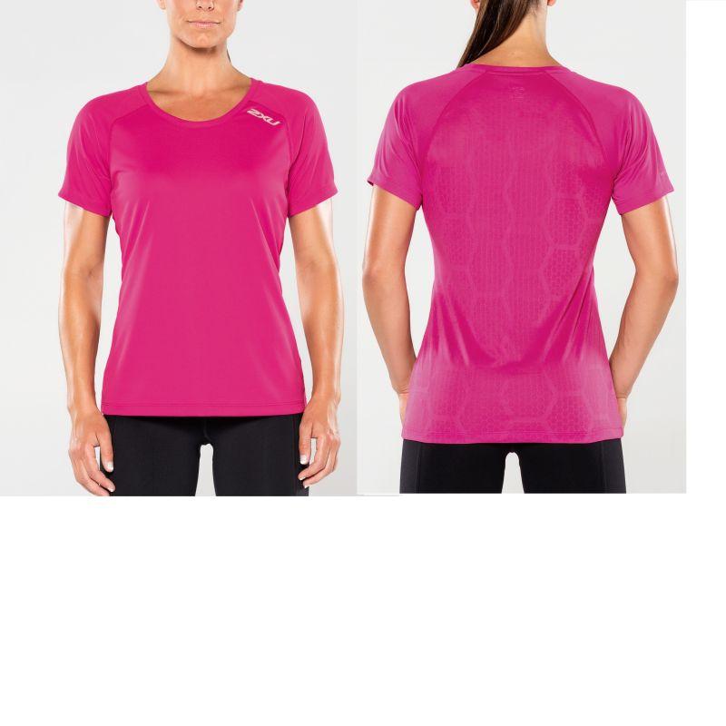 Женская футболка Xvent 2XU WR4592aFuchsiaRed
