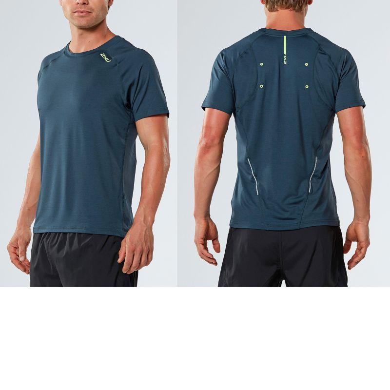 Мужская футболка Urban 2XU MR4079aOmbreBlueMarle
