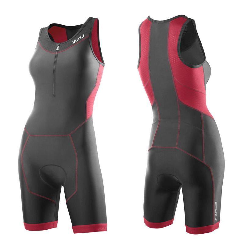 Женский костюм для триатлона Perform Trisuit 2XU WT2707dCharcoalCoralParadise