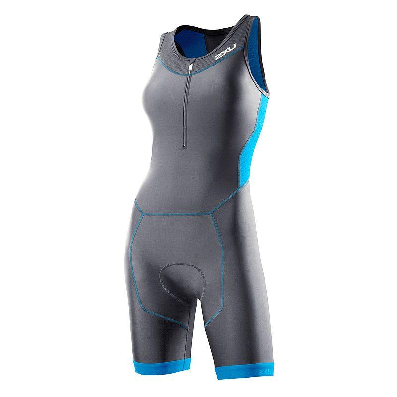 Женский костюм для триатлона Perform Trisuit 2XU WT2707CharcoalUltramarineBlue