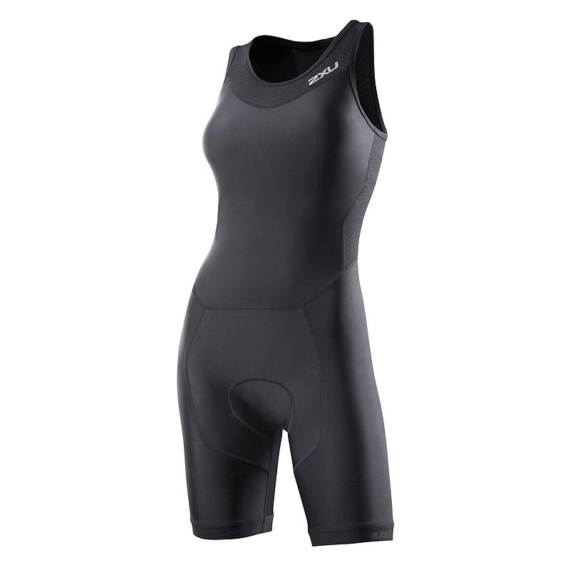 Женский костюм для триатлона Perform Rear Zip Trisuit 2XU WT2706dBlack