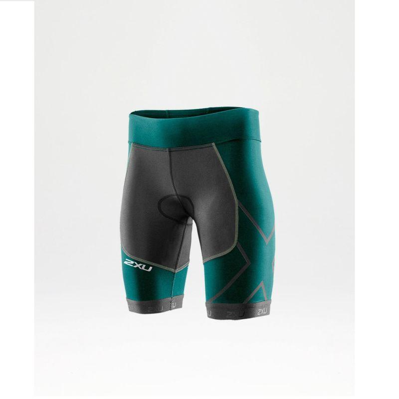 Женские шорты для триатлона Perform Compression Tri Short 2XU WT3115bCharcoalLagoon