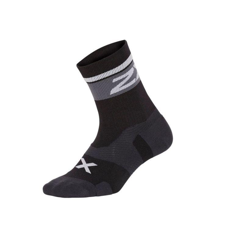 Компрессионные носки Elite Vectr Cushion 2XU UA5053eBlackWhite